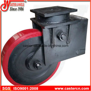 16 Inch Heavy Duty Shock Absorbing Casters with Polyurethane Wheel pictures & photos