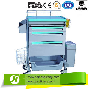 Luxury Customized Medicine Changing Trolley pictures & photos