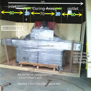 TM-UV750 Packaging UV LED Curing Machine pictures & photos