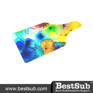 Bestsub Bottle Shape Glass Cutting Board (CB06) pictures & photos