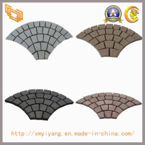 Flamed Natural Granite Paving Stone for Landscape, Garden, Patio pictures & photos