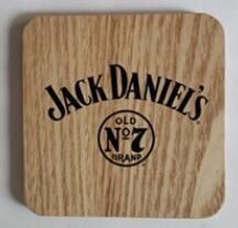 Customlized Wood Material Cup Coasters /DIY Tea Coasters pictures & photos