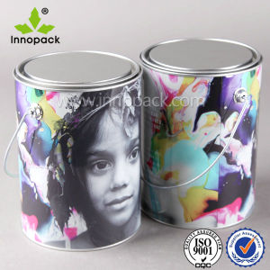 1 Gallon Paint Metal Ink Bucket for Coating Chemicals pictures & photos