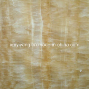 Hot Sell Polished Honey Onyx Marble Slabs (YQC) pictures & photos
