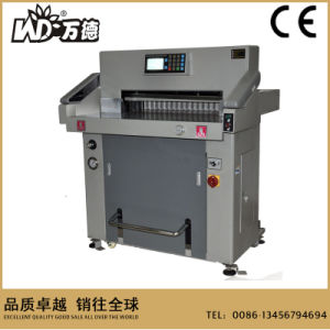 China Professional Manufacturer 720mm Hydraulic Paper Cutter (WD-H720R) pictures & photos