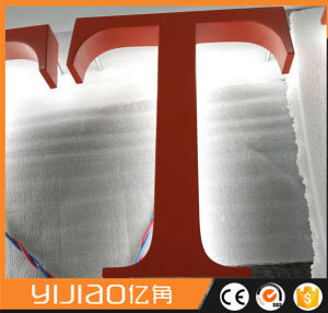 Outdoor Advertising Back Light Metal Letter Signs pictures & photos