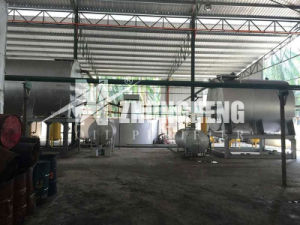 Engine Oil Distillation System/Waste Lubricant Oil Purification Equipment pictures & photos