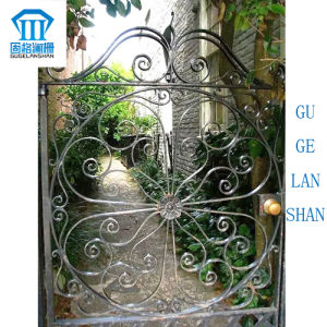 High Quality Crafted Wrought Single Iron Gate 010 pictures & photos