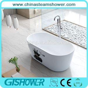Modern Acrylic Freestanding Bathtub with Screen Printing (BL1002BE) pictures & photos
