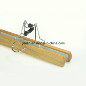 Fashion Hair Extension Wooden Hanger / Man Suit Wood Hanger (YL-a002) pictures & photos