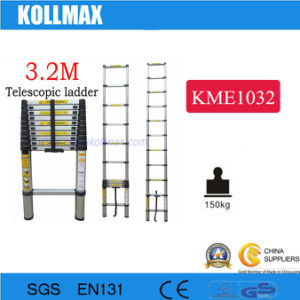 3.2m Aluminumtelescopic Ladder pictures & photos