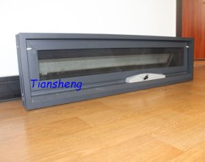 Powder Coated Dark Grey Aluminum Awning Window for Australia Market pictures & photos