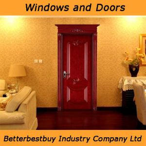 Simple Design Solid Wood Door for Room pictures & photos