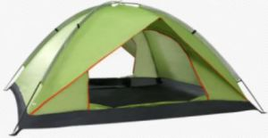 Hiking and Traveling 3 Person Outdoor Family Camping Tent pictures & photos