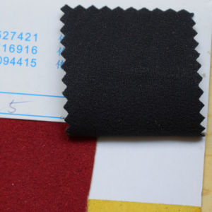High Quality Suede Artificial Leather for Shoe (HST123) pictures & photos