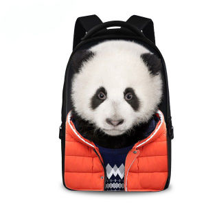 3D Animal Panda Bag 3D Bag Animal Backpack Sh-15113064 pictures & photos