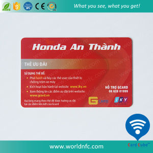 Credit Card Size Full Color Printed PVC Membership Card pictures & photos