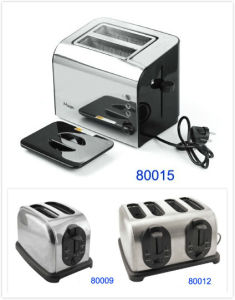 Two or Four Slice Eletric Toaster for Restaurant Kitchen (80015/80009/80012) pictures & photos