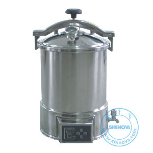 Portable Pressure Steam Sterilizer (Automatic microcomputer type) (MS-P18M/P24M) pictures & photos