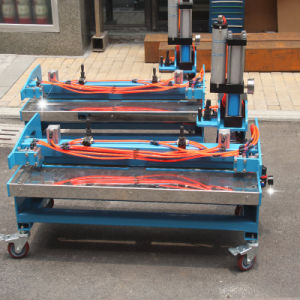 Big Size Pneumatic Punching Machine for PVC Conveyor Belt pictures & photos