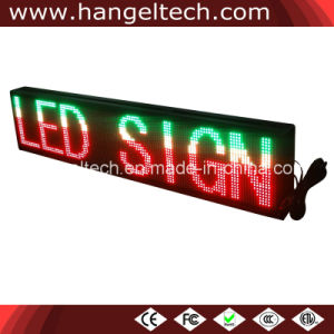 P7.62mm 32X192 Pixels Window Programmable LED Moving Message Sign Board