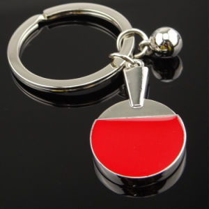 New Custom Metal Sports Ping-Pong Key Chain pictures & photos
