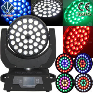19X15W LED Wash Beam Moving Head Light with Ring-Effect Fan-Temperature-Control pictures & photos