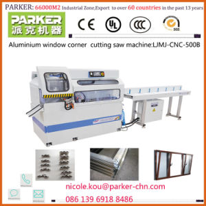 CNC Aluminium Corner Key Cutting Saw, Aluminum Window CNC Corner Joint Cutting Machine, Aluminum Window Machine pictures & photos