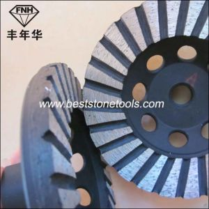 Concrete Turbo Grinding Cup Wheel pictures & photos