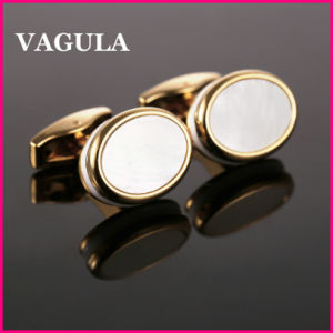 VAGULA New Design Shell Cufflinks L52502 pictures & photos