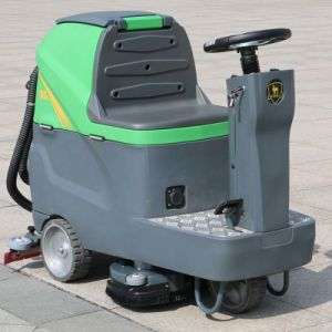 Electric Vacuum Road Sweeper Ride-on Floor Scrubber (DQX6) pictures & photos