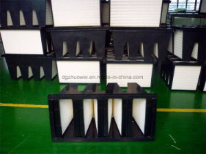 Fv Combined Sub-HEPA Filter, F8 F9 H10 H11 V Bank Air Filter Large Airflow pictures & photos