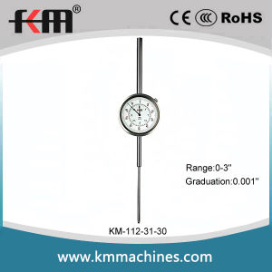 0-3′′ Wide Range Inch Dial Indicator with 0.001′′ Graduation pictures & photos
