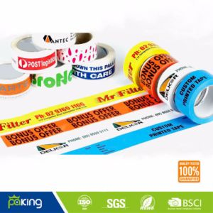 Colorful Logo Printed BOPP Packing Tape for Sales Promotion pictures & photos