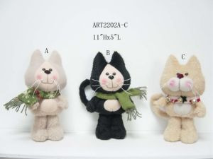 Home Decoration Cat and Dog Gift, 2 Asst-Christmas Decoration pictures & photos