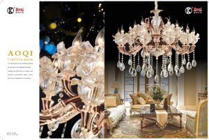 Fashion & Die Casting Luxury Crystal Chandelier Light pictures & photos