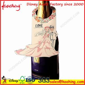 Factory Corrugated Cardboard Wine Box with Handle & Window for Three Bottles Wine Packaging pictures & photos