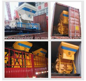Js500 (0.5m3) Twin Shaft Concrete Mixer pictures & photos