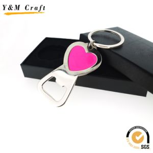 Custom Blank Metal Key Ring Sublimation Bottle Opener Key Chain pictures & photos