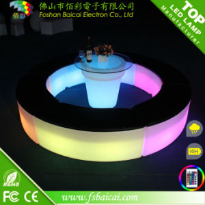 Hot Sale Illuminate LED Rectangle Chair / LED Glowing Chair / LED Light Chair pictures & photos
