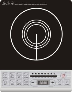Push Button Big Size Induction Cooker with Voice Function pictures & photos