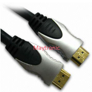 China Manufacturer Metal Casing HDMI Cable with 3D, 4k pictures & photos
