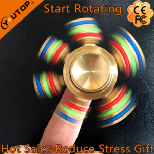 New Hexagonal Brass Hand Spinner/ Finger Spinner pictures & photos