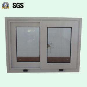 White Colour Powder Coated Aluminum Sliding Window K01060 pictures & photos