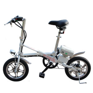 16′ ′ Folding E-Bike Small Foldable Electric Bike pictures & photos