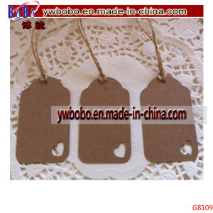 Vintage Style Gift Tags Wedding Christmas Tags Key Tag (G8109) pictures & photos