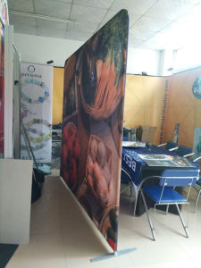 8FT Aluminum Tension Fabric Backdrop Banner Display Stand for Exhibition pictures & photos