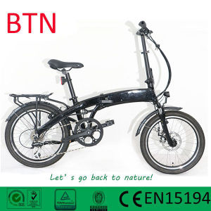 Promotional Folding Rear Hub Motor Electric Bike/Bicycle pictures & photos
