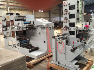Flexo Printing Machine One Color 2 Rotary Die Cutting Station pictures & photos