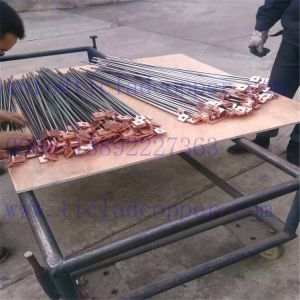 Gr1 Titanium Clad Copper/ Steel Clad Copper/ Hanger Bar/ Support Bar for Copper/ Gold Refining pictures & photos